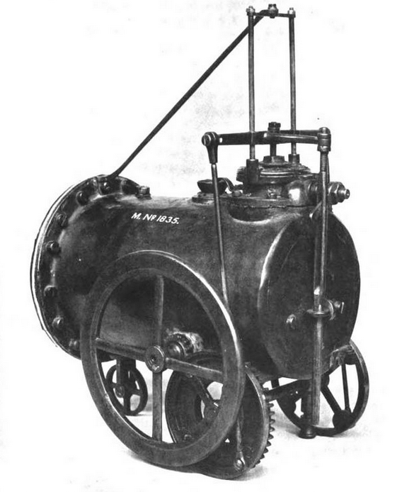 Picture 1: Richard Trevithick Model engine